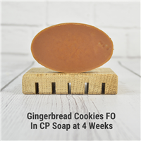 Gingersnap Cookies FO in CP Soap