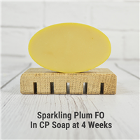 Sparkling Plum FO in CP Soap