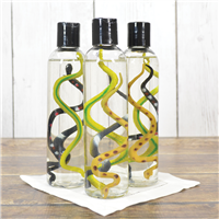 Snake Vinyl Toy in shower gel