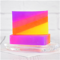 Layered Neon Soap Loaf Kit