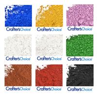 Non-Bleeding Pigment Powder Color Set