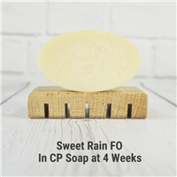 Sweet Rain FO in CP Soap
