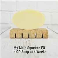 My Main Squeeze FO in CP Soap