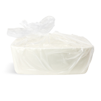 Detergent Free White MP Soap Base - 24 lb Block