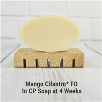 Mango Cilantro* FO in CP Soap