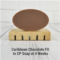 Caribbean Chocolate FO in CP Soap