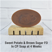 Sweet Potato & Brown Sugar FO in CP Soap
