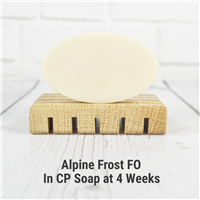 Alpine Frost FO in Cold Process Soap