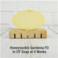 Honeysuckle Gardenia FO in CP Soap