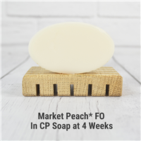 Market Peach* FO in CP Soap