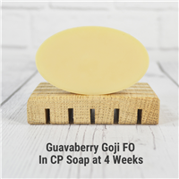 Guavaberry Goji FO in Cold Process Soap