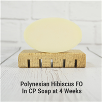 Polynesian Hibiscus FO in CP Soap