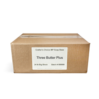 Premium Three Butter Plus Soap Base - 24 Block