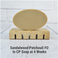Sandalwood Patchouli FO in CP Soap