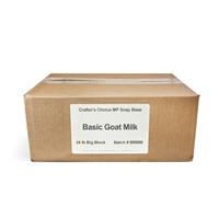 Basic Goat Milk MP Soap Base - 24 lb Block