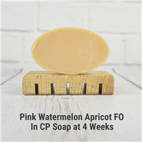 Pink Watermelon Apricot FO in CP Soap