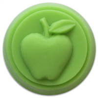 Apple Small Round Soap Mold (MW 152)