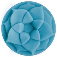 Lotus Blossom Small Round Soap Mold (MW 158)