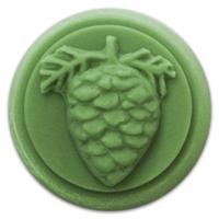 Pine Cone Small Round Soap Mold (MW 159)