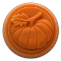 Pumpkin Small Round Soap Mold (MW 160)