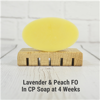 Lavender & Peach FO in CP Soap