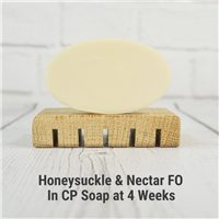 Honeysuckle & Nectar FO in CP Soap