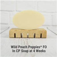 Wild Peach Poppies* FO in CP Soap