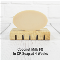Coconut Milk FO in Cold Process Soap