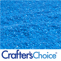 Traditional - Caribbean Blue Glitter