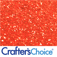 Traditional - Red Orange Glitter