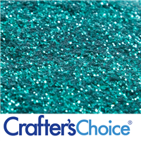 Traditional - Turquoise Green Glitter