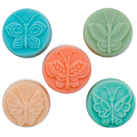 Butterfly 5 Guest Soap Molds (MW 36)