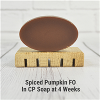 Spiced Pumpkin FO in CP Soap