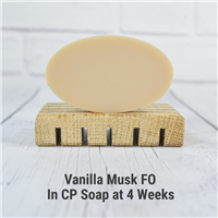 Vanilla Musk FO in CP Soap