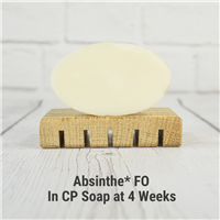 Absinthe* FO in CP Soap