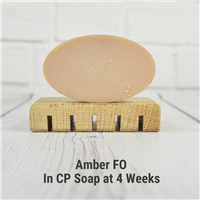 Amber FO in CP Soap