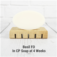 Basil FO in Cold Process Soap