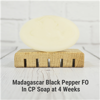 Madagascar Black Pepper FO in CP Soap