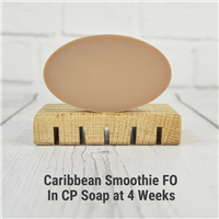Caribbean Smoothie FO in CP Soap