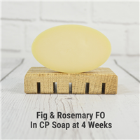 Fig & Rosemary FO in CP Soap