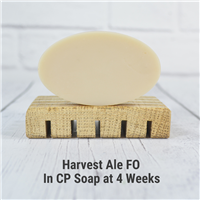 Harvest Ale FO in CP Soap