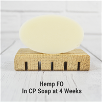 Hemp Fragrance Oil in CP Soap