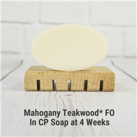 Mahogany Teakwood* FO in CP Soap