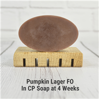 Pumpkin Lager Fragrance Oil in CP Soap