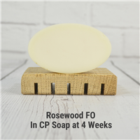Rosewood FO in CP Soap