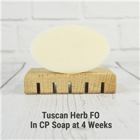 Tuscan Herb FO in CP Soap