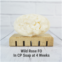 Wild Rose FO in CP Soap