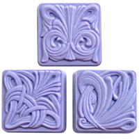 Art Nouveau Tiles Soap Mold (MW 55)