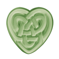 Celtic Heart Soap Mold (Special Order)