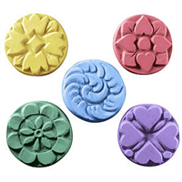 Flowers Guest Soap Mold (MW 45)